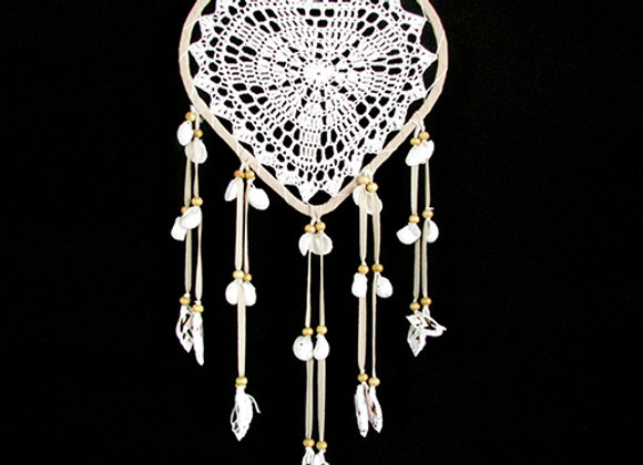 Dream Catcher Heart with shell