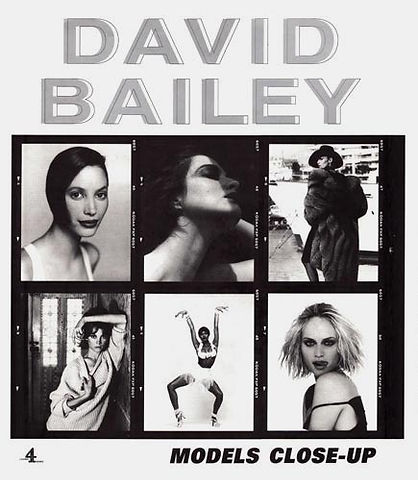 """David Bailey """"Models Close Up"""""""