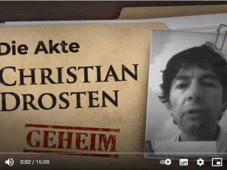 ÖNEMLİ !!: Corona-Ausschuss-Prof. Drosten, PCR, asemptomatik yanlışları...davalar