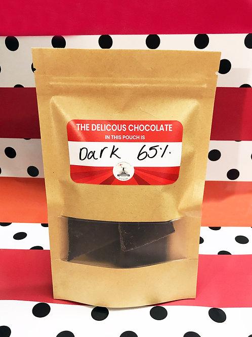 Vegan & Gluten-Free 65% Dark Chocolate