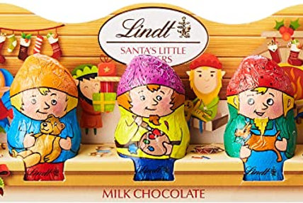 Lindt Santa's Little Helpers