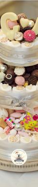 Chocolate Umbrella Wedding Cake