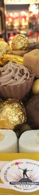 Chocolate umbrella Wedding GOLDEN CAKE