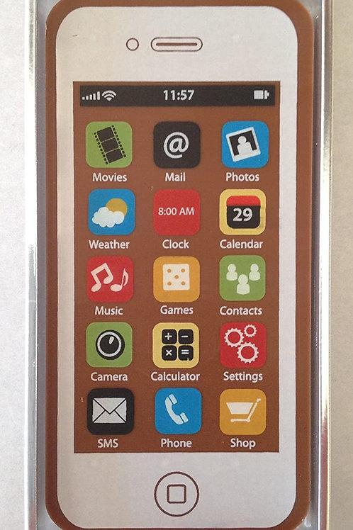 iPhone Chocolate White