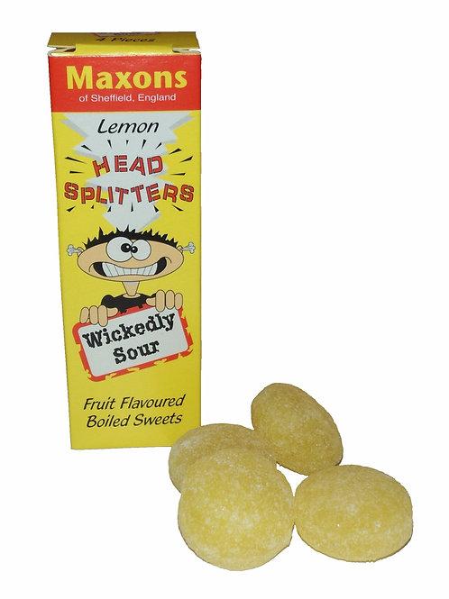 Headsplitter Sour Lemon Sweets