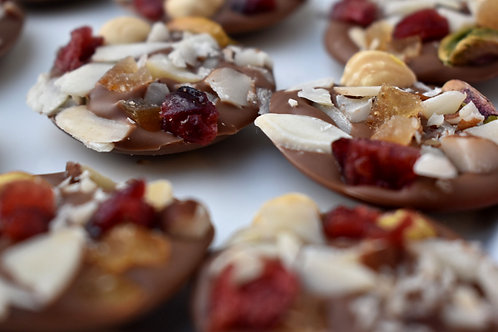 Fruit & Nut Chocolate Buttons