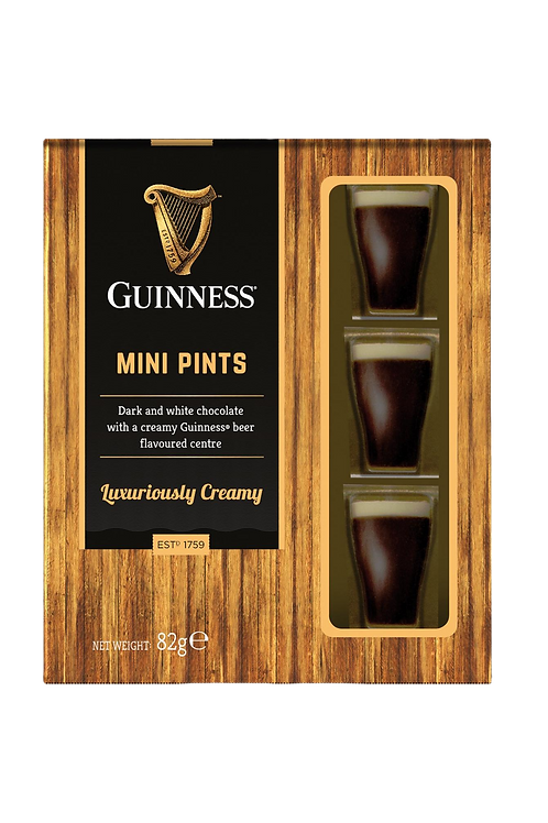 Guiness Mini Pints Luxuriously Creamy