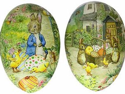 Beatrix Potter Cardboard Easter Egg