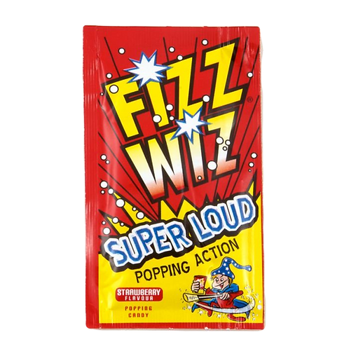 Fizz Wizz Strawberry Flavour