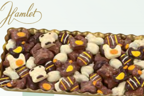 Assorted Decorated Chocolate Praline filled Easter Mix