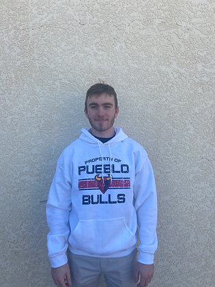 Bulls White Property of Sweatshirt