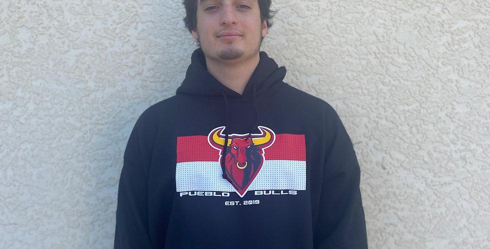 Bulls Black Jersey Sweatshirt