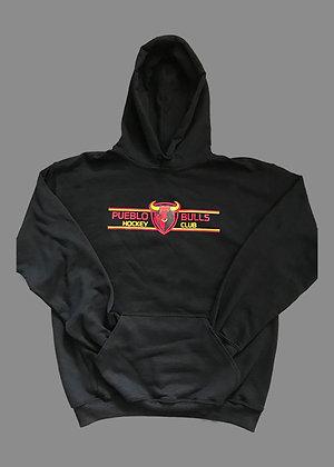 Pueblo Bulls Black Hoodie