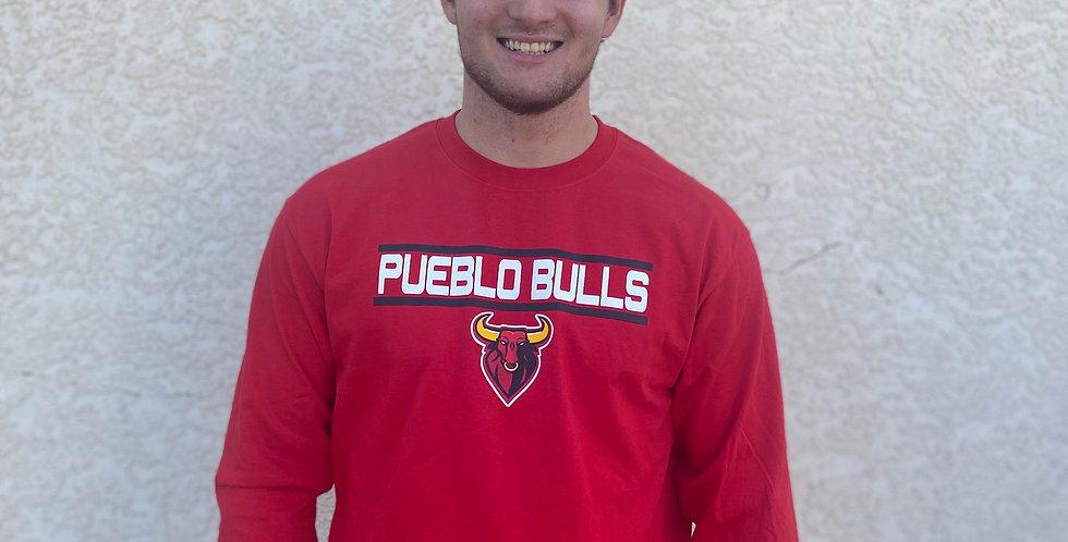 Bulls Red Long Sleeve