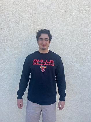 Bulls Black Long Sleeve