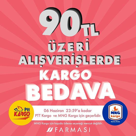 FARMASİ 90 TL KARGO İNDİRİMİ