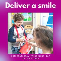 International Friendship day postcard po