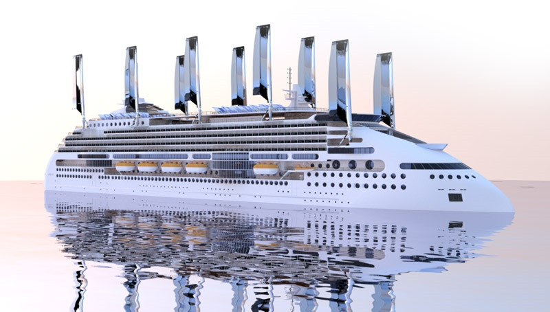 Eco Friendly Peace Ship Exciting New Technologies Happening