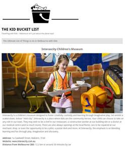 The Kids Bucket List