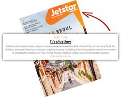 Interaxcity in Jetstar Magazine