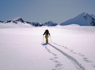 Glacier Crossing in Canada