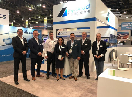 We're exhibiting at NBAA, Vegas