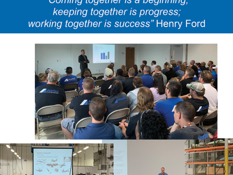 All-Hands meeting with David Horner, CEO of Applied Composites