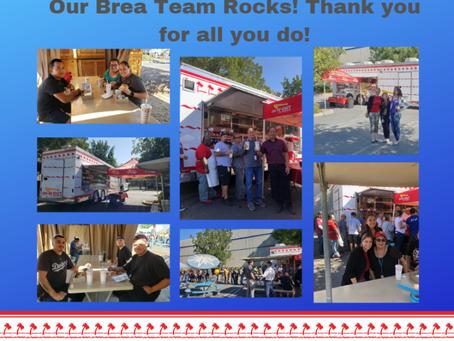 Our Brea team rocks!