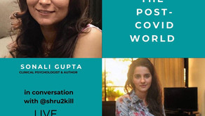 Talking about anxiety with Shruti Seth