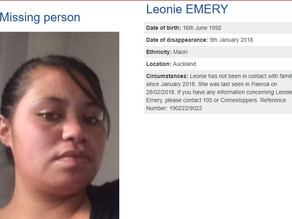 Appeal For Any Information On Missing Woman Leonie Emery
