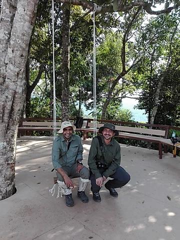 Ramesh & Chalinda at Kaeng Krachan