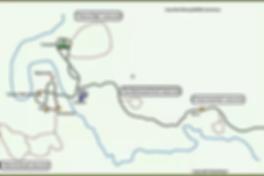 Huai Kha Kaeng WS-Map of Huai Kha Khaeng.