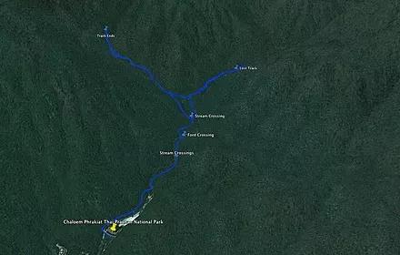 Chaloem Phrakiat NP-Map of Chaloem Phrakiat.