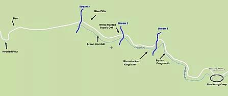 Kaeng Krachan NP-Map of Kaeng Krachan 1.