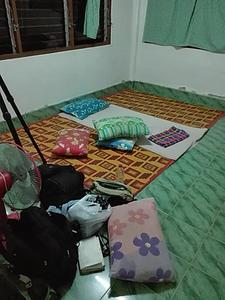 Hard Floor Sleeping at Hala Bala