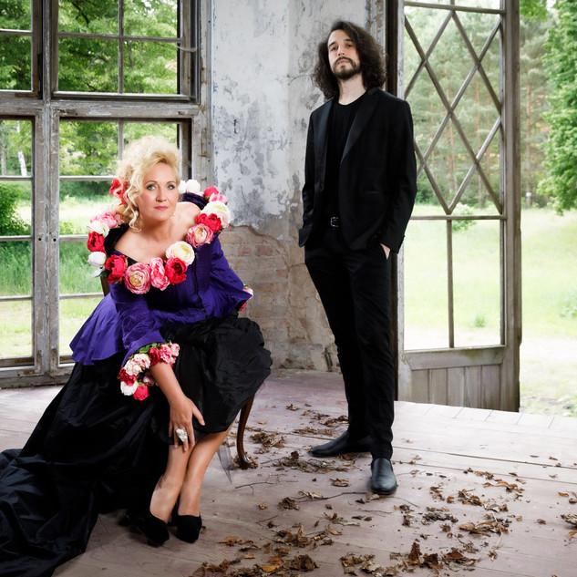 """Gianluca Geremia &  Simone Kermes für das neue Album """"Enternity"""""""