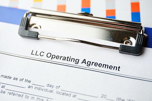 Legal document LLC Operating Agreement o