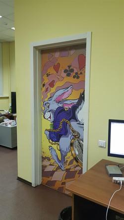 Оформление офиса в комикс стиле
