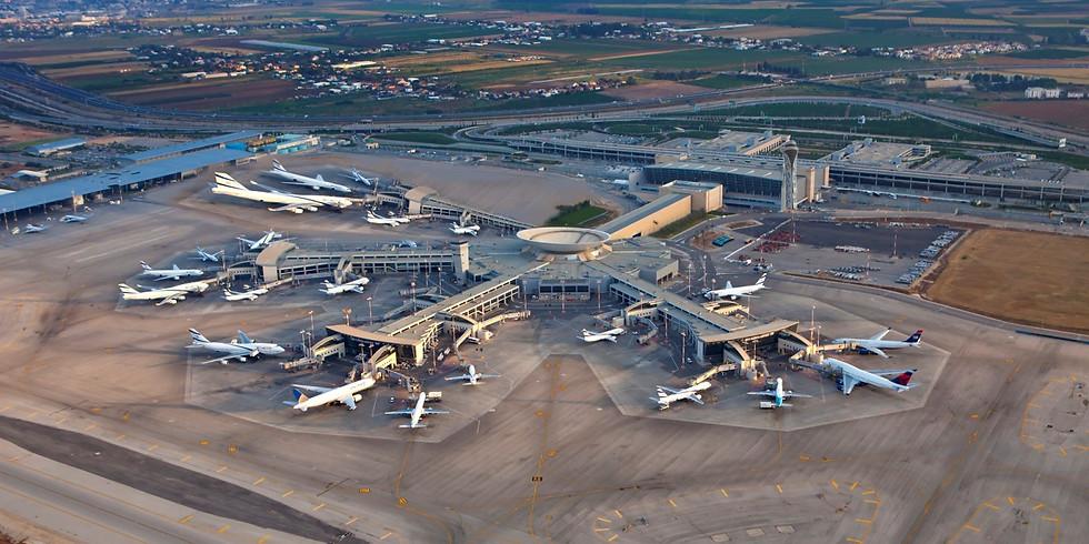 סיור מקצועי בנמל התעופה בן גוריון
