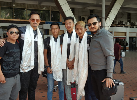 Sikkim lads return after impressing all in Colombia as part of Team India