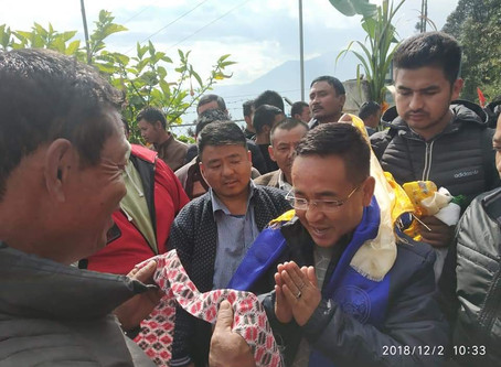 Corruption has outstripped development in Sikkim: Golay