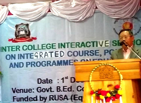 HRDD Minister chairs interactive session on integrated course, policies and programmes