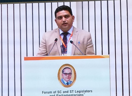 Minister Ghatani chairs session at International Ambedkar Conclave