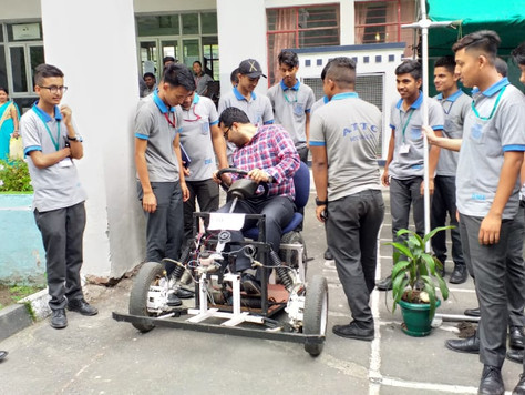 ATTC Bardang holds project exhibition