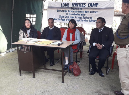 Legal services camp on child rights held at Boomtar