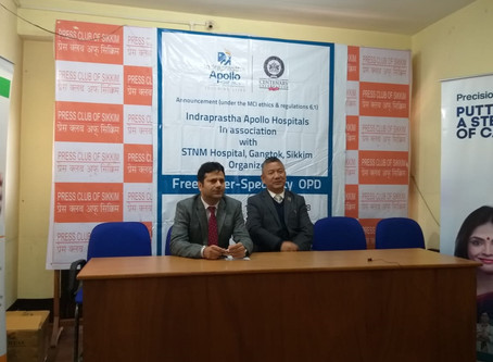 Indraprastha Apollo Hospitals offers Free Super Speciality OPD at STNM