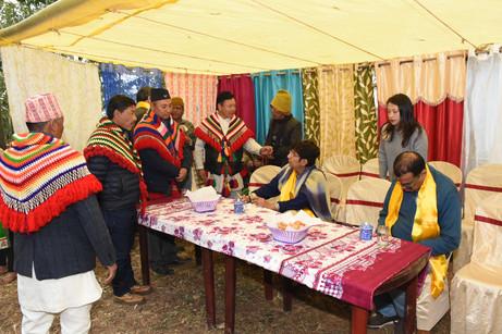 MoTA team visits Nizrameng to study socioeconomic conditions of 11 leftout communities