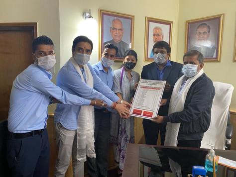ICICI donates oxygen concentrators to Govt