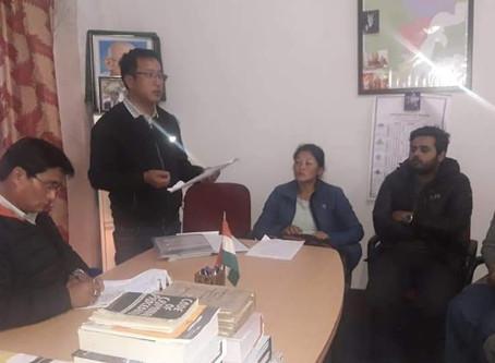 Dzongu BRG meets to discuss NNM