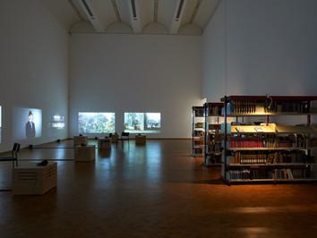 Die Bibliothek im Museum